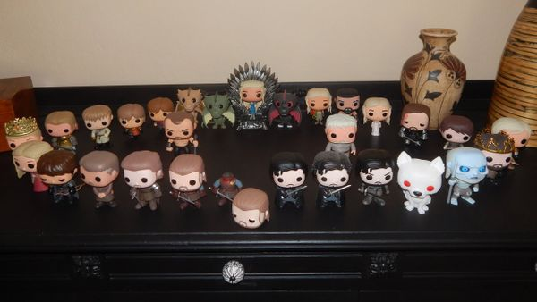 Does Game of Thrones' Characters Look Similar in Funko Pop?